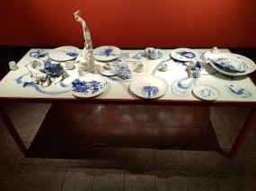 Irene Nordli (1967), Mine Kinafortellinger, 2017. Foto fra utstillingen: Siri Wolland.