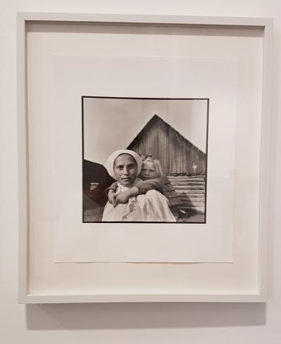 Foto Renè Burri, The Imaginary Pyramids. Les Rencontres de la Photographie, Arles 2018. Foto fra utstillingen: Siri Wolland.