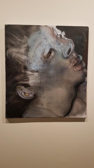 Marlene Dumas, Io, 2008. Foto fra utstillingen: Siri Wolland.
