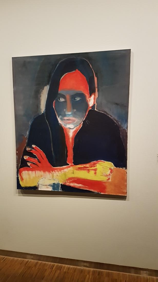 Marlene Dumas, Genetisk lengsel, 1984. Foto fra utstillingen: Siri Wolland.