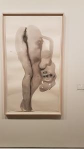 Marlene Dumas, Dorothy D-lite, 1998. Foto fra utstillingen: Siri Wolland.