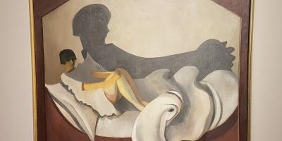Per Krohg (1889-1965), Skyggen, 1915. Foto fra utstillingen: Siri Wolland.