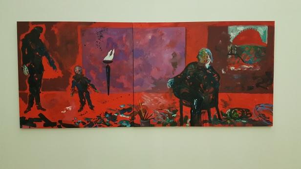 Håkon Bleken, Uten Tittel I, 2006. Foto fra utstillingen; Siri Wolland