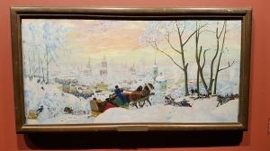 Boris Kustodjev, 1916. Foto fra utstillingen; Siri Wolland.