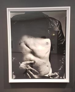 Andy Warhol, artist,1969. Fra utstillingen Avedons Amerika, Henie Onstad kunstsenter. Alle fotografier Richard Avedon. Foto fra utstillingen; Siri Wolland.