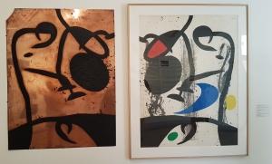 Foundation Maeght i St Paul de Vence, og utstillingen Joan Miró. Au-delà de la peinture. Foto fra utstillingen Siri Wolland.
