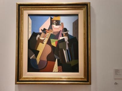 Emilio Pettoruti (1892-1971), The Song of the People, 1927. Foto fra utstillingen Siri Wolland.