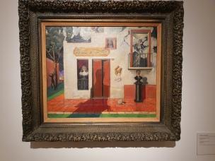 Roberto Montenegro (1887-1968), L`epicerie du bon poet,1939. Foto fra utstillingen Siri Wolland.