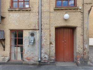 Her er Fabrikkbygningen. Foto Siri Wolland.